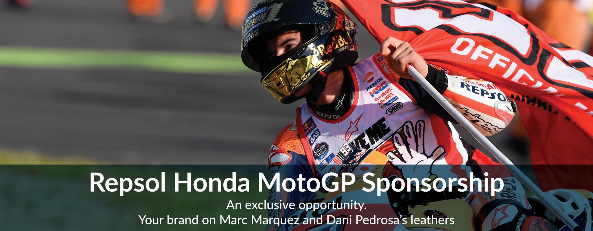 Repsol Sponsoring? We are proud Repsol Honda MotoGP Sponsorship